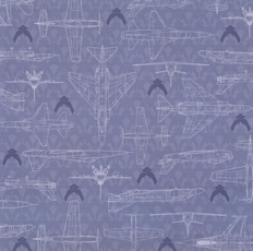 Air Force Scrapbook Paper Planes