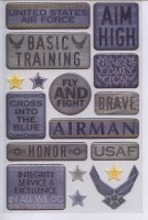Air Force Scrapbook Stickers