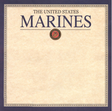Military Marine Scrapbook Paper
