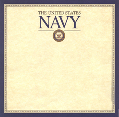 Military Navy Scrapbook Paper