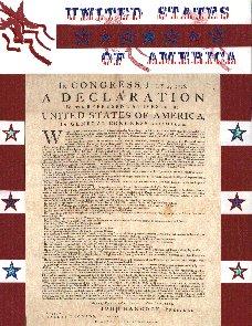 Patriotic Scrapbook Layout 1