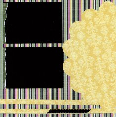 Patterned paper used in Scrapbook Layouts Tutorial