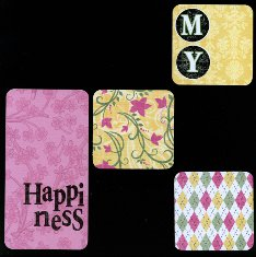 Patterned Papers in Scrapbooking