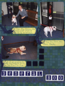 School Mascot or Pet Scrapook Layout
