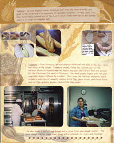 Scrapbook Recipe Layout