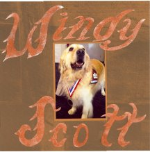 Windy Title Page Pet Scrapbook