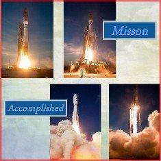 Atlas Missile Digital Scrapbook Layout