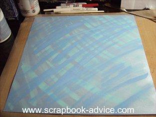Making Background Scrapbook Paper Tutorial