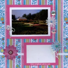 Biltmore Conservatory Scrapbook Layout