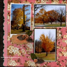 Biltmore Conservatory Scrapbook Layout