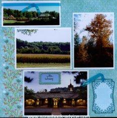 Biltmore Estate Scrapbook Layouts