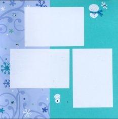 Christmas Scrapbook Layout Doodle Bug Essentials