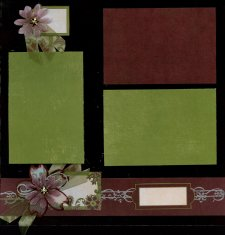 Christmas Scrapbook Layout Personal Shopper Scrapbook Kit