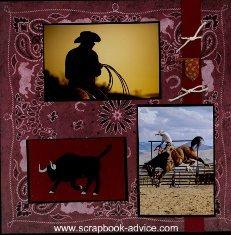 Cody Wyoming Scrapbook Layout & Embellishment Ideas