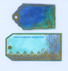 Color Me Paper & Tags for Scrapbooking and Card Making