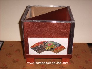 Home Decor Items made with Scrapbook Supplies