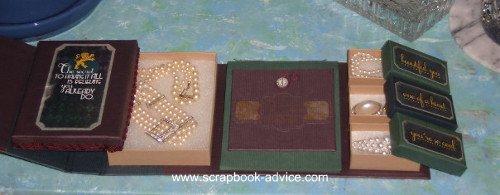 Home Decor Items using Scrapbook Supplies