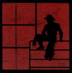 Die Cut Laser Cut Scrapbook Layout Cowboy