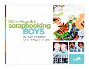 Ella Publishing Scrapbooking for Boys