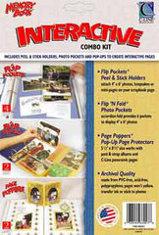Interactive Combo Kit Page Protectors