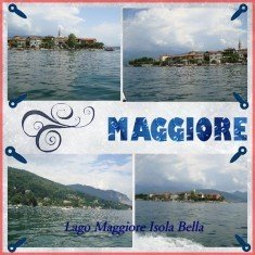 Italian Vacation Digital Scrapbook Layouts