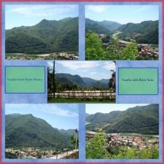 Italian Vacation Scrapbook Layout