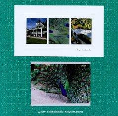 Magnolia Plantation Scrapbook Cover Page