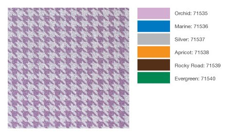 POW Gitter Paper from American Crafts Houndstooth Pattern