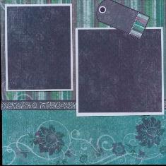 Personal Shopper Scrapbook Layout May 2010