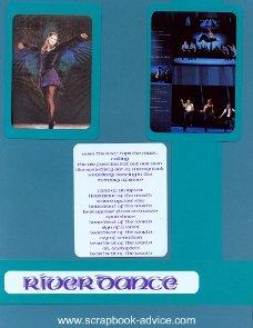 Riverdance Scrapbook Layout 12 x 15 inch Album