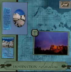 Mount Rushmore Scrapbook Layouts & Ideas
