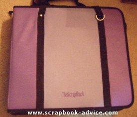 Scrap Rack Travel for Scrapbook Supply Storage
