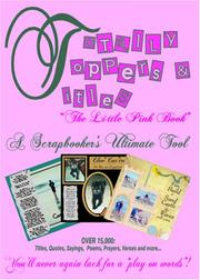 Scrapbook Layout Titles & Toppers by Chery Bradbury
