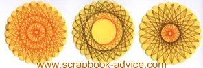Spirella Fall Designs Instruction & Tutorial for scrapbook embellishments