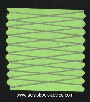 Spirella Rectangle Design Instruction & Tutorial for scrapbook embellishments
