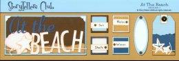 Storytellers Scrapbook Page Kit Beach