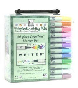 Scrapbooking Pens Zig Bullet & Fine Writer Set of 48