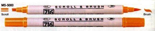 Scrapbooking Pens Zig Scroll & Brush Pen