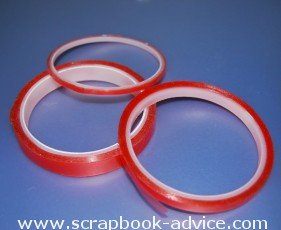 Scrapbook Adhesives Red Line Tape