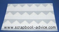 Scrapbook Adhesives Photo Corners White