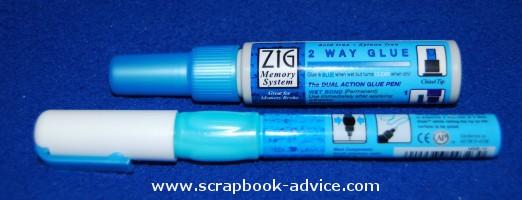 Scrapbook Adhesives Zig Glue Pens