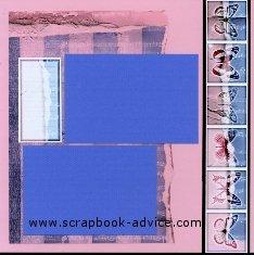 Baby Scrapbook Layouts