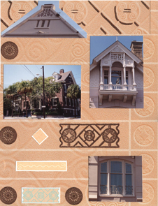 Charleston SC Scrapbook Layout