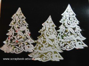 Michael Strong Cloisonne Tree Card Front