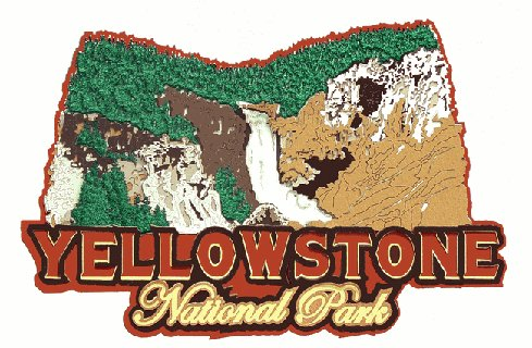 Die Cut Yellowstone Park