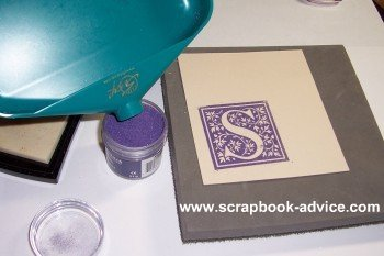 Embossing Powder for Rubber Stamp Embossing