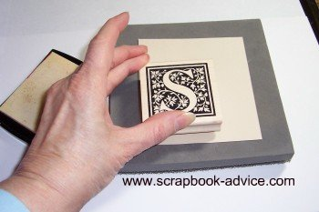 Rubber Stamp Embossing Stamping Image