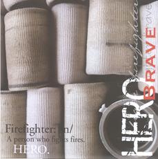 Firefighter Scrapbook Paper