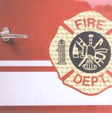 Firefighters Scrapbook Paper