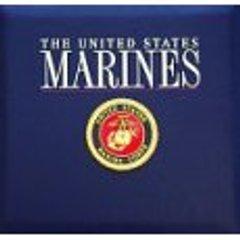 Military Marines Scrapbook Album